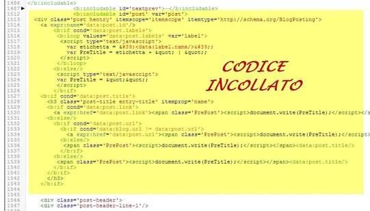 codice-incollato-modello-blogger