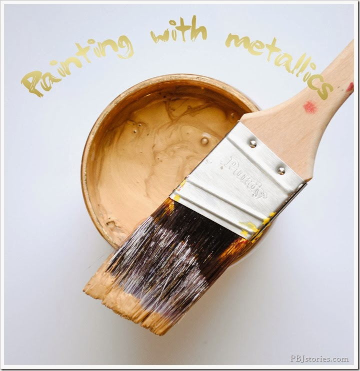 painting with modern masters metallic paint