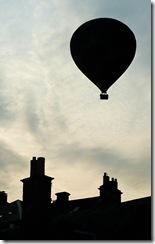 balloon into the sun