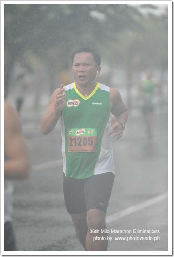 pop in 36th Milo Marathon