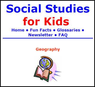 1.) Social Studies for Kids – This website includes a collection of articles on current events, historical events and other great Social Studies topics.