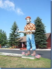 4832 Michigan - Manistique, MI - US-2 - Paul Bunyan Statue