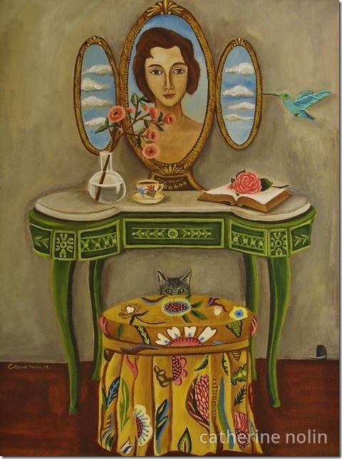 The Curiosity Surrounding Miss Claudette by Catherine Nolin 2013