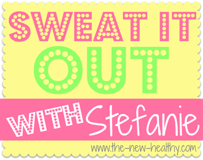 sweat it out with stefanie button