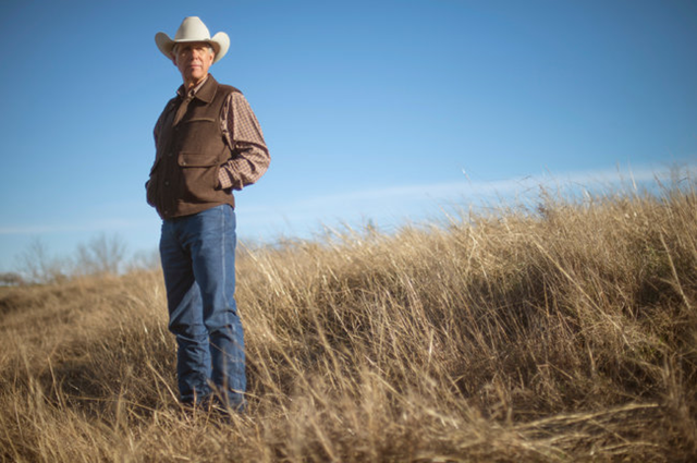 Gary Price is a rarity among cattle ranchers in 2013. He's making money on his herd of 200 cows in this tiny town about an hour south of Dallas-Fort Worth. Mr. Price and his wife manage their land to help them avoid buying food and water for their cattle. Photo: By Brandon Thibodeaux / The New York Times