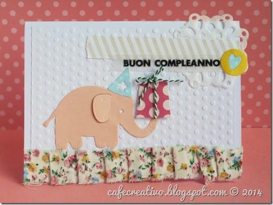 cafe creativo - card compleanno - bimbi - elefantino (1)