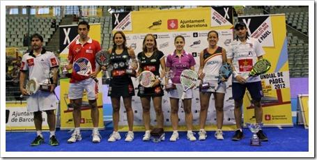 Poggi-Gutiérrez y Navarro-Reiter Campeones en el X Campeonato del Mundo Open de Barcelona.
