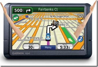 GPS con brazos