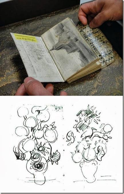 oggetti vangogh sketchbookl