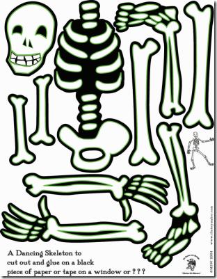 esqueleto danzante