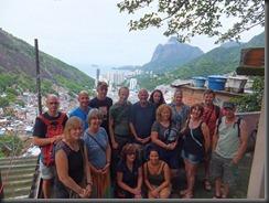 Group on favela tour better one - Lisa