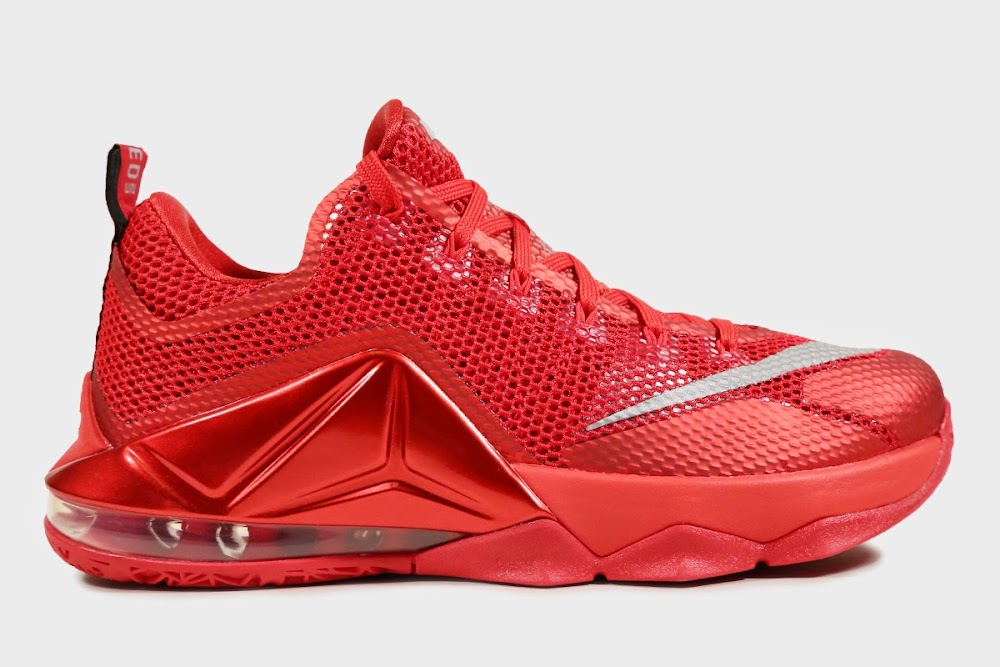 eac8eda639761b ... amazon 8220all over red8221 nike lebron 12 low is available at eastbay  0767e f1963