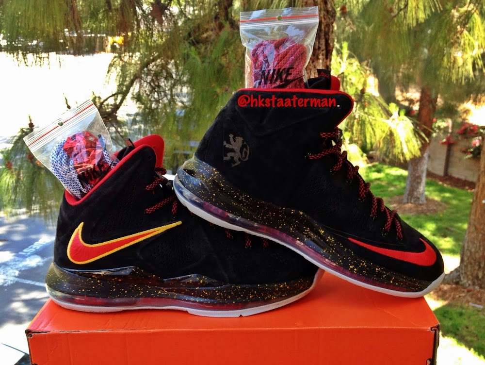Nike LeBron 10 EXT Miami Heat