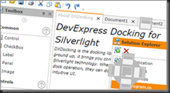Silverlight-Docking-Form-Layout-Multi-Purpose-Controls