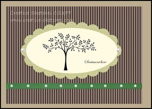 Creative-Sketches, Blog, Challenge, Design Team, Flores Suaves, Celebrando Creatividad, Online ordering, Shop Online, Sharon Field, 2011-12  Idea Book & Catalog,masking, technique, Created By You, card stock, card, scallop edge ribbon, paper daisies, big shot machine