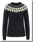 Howlin by Morrison Navy Fair Isle Sweater