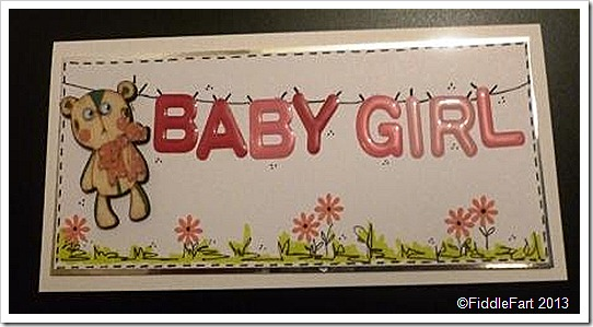 Baby Girl Card WholePort