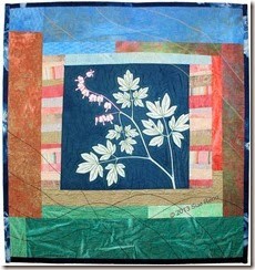 Sue Reno, Bleeding Heart, art quilt