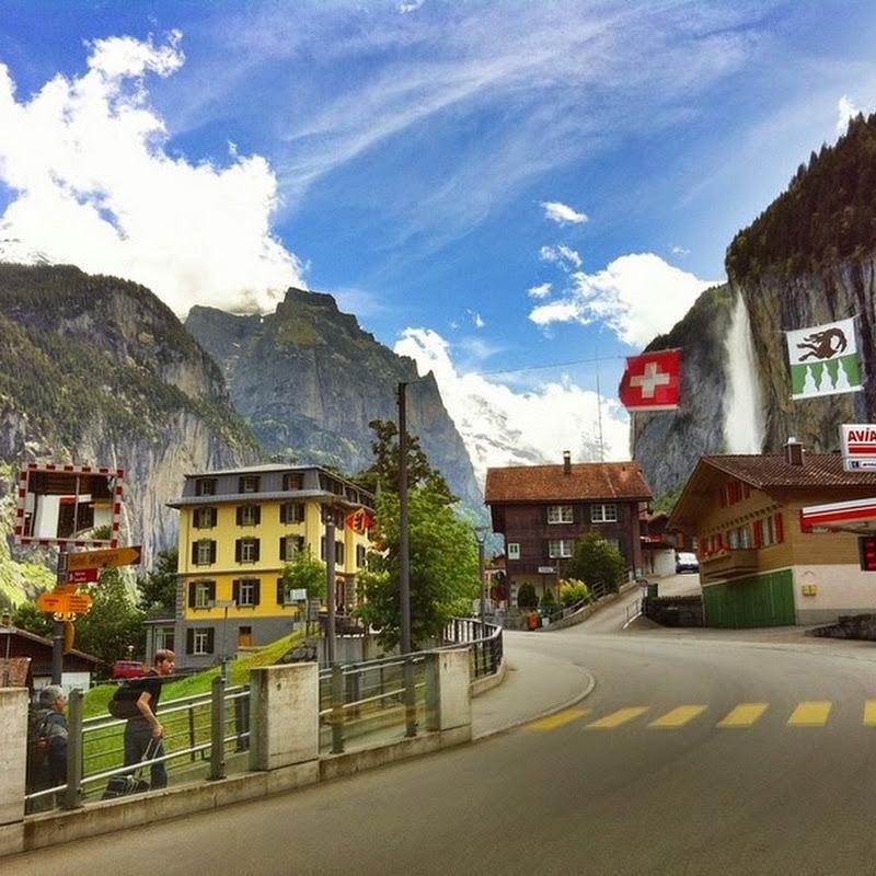 Lauterbrunnen: The Valley of 72 Waterfalls