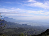 The view north from near the top of Gn Merbabu (Daniel Quinn, May 2009)