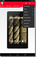 تطبيق فريمات أحدث الهواتف والتابلتس لصورك Perfect Screenshot-3