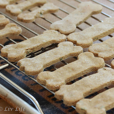 Homemade Dog Treats - aka Bowzer Bites