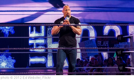 'The Rock at Raw, Miami, 2 April 2012' photo (c) 2012, Ed Webster - license: http://creativecommons.org/licenses/by/2.0/