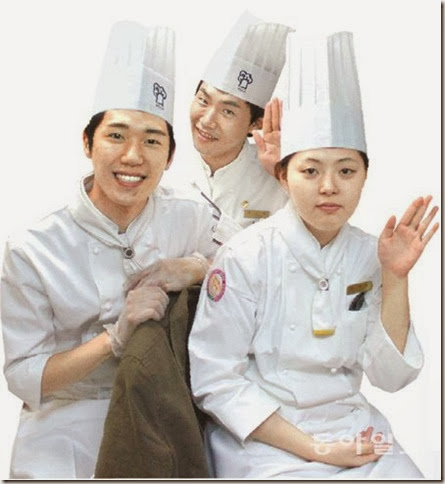 Global Korean Culinary Arts Students from Woosong in Guatemala at the 2012 Korean Foods Festival