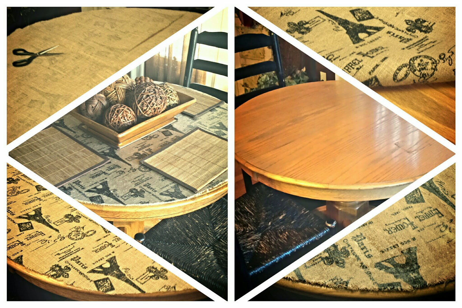 Mod Podge Kitchen Table The Junker Shop Kitchen Table Fabric Mod Podge