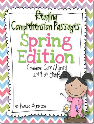 Spring Comprehension Sheets