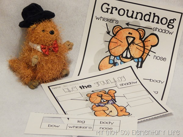 Groundhogs Day Labeling Activity