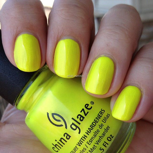 China Glaze Sunkissed (Summer Neons)