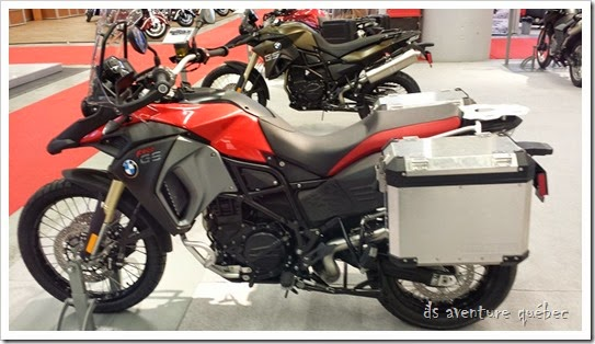DS Aventure Quebec BMW F800GS Adventure