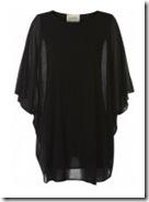 Ronit Zilkha Cape Dress