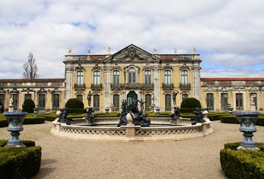 Palácio de Queluz - fachada de cerimonia