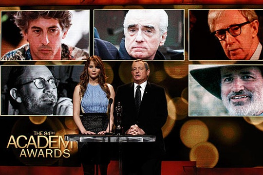 Best Directors Nominated in Oscars 2012