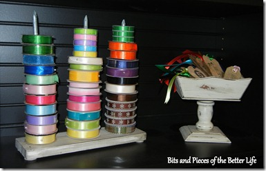 Ribbon Stand Craft Room