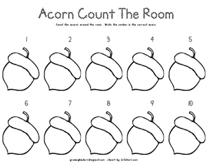 acorn count the room
