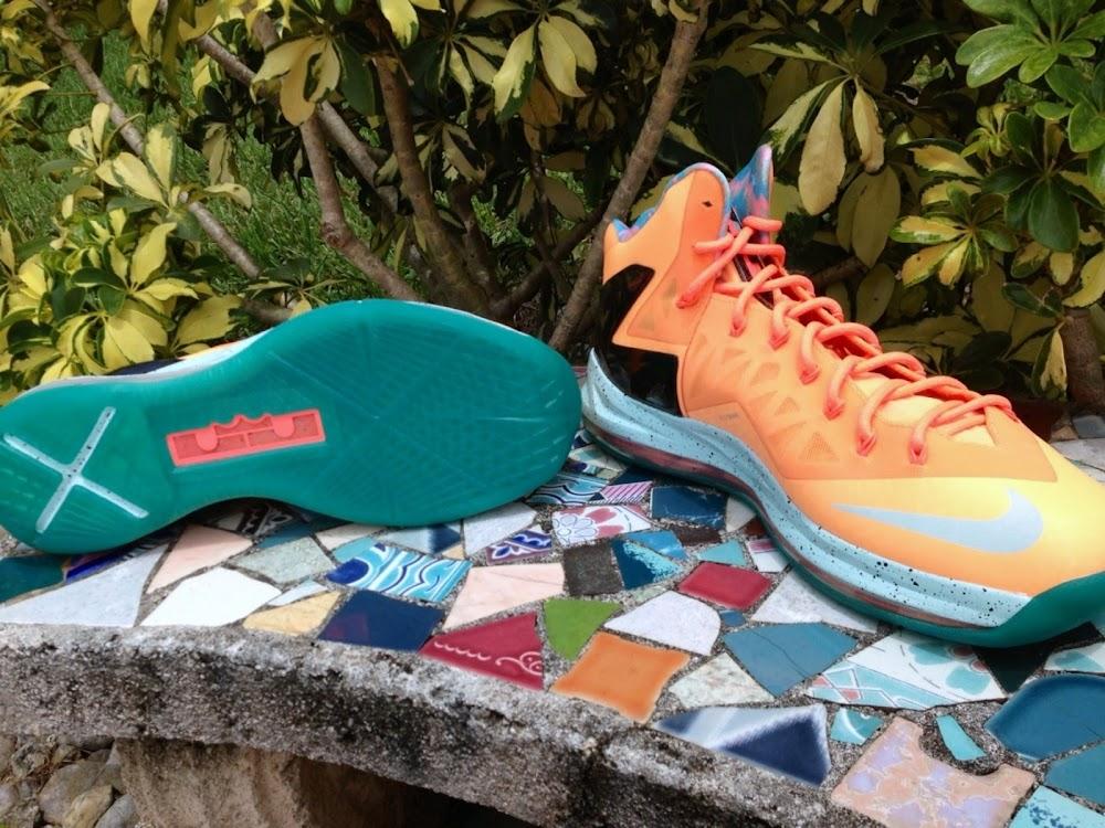 ... Nike LeBron X PS Elite EYBL aka Shooting Stars PE ... a56a13614