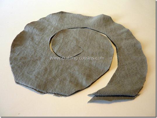 no sew ruffle scarf 4
