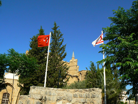 Things to see in Nicosia: local flags