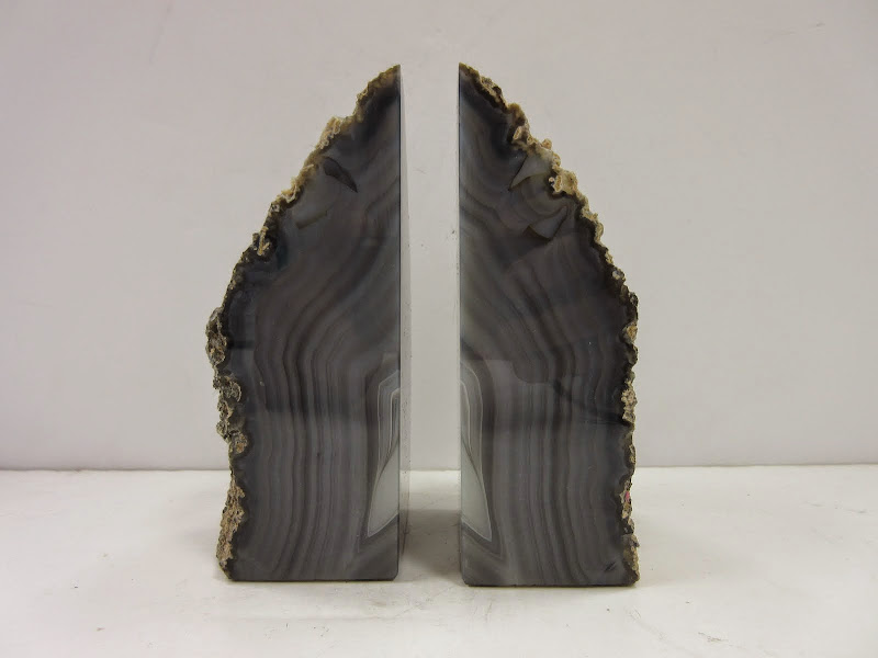 Agate Book Ends