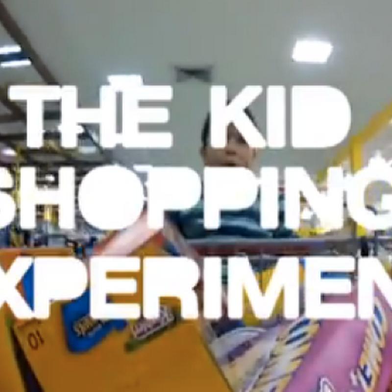 Niños de compras