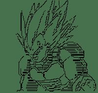 Vegeta Anger (DRAGON BALL)