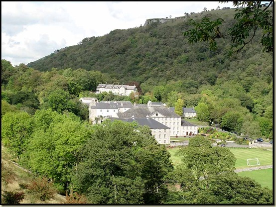 Looking back to Cressbrook from the Monsal Trail