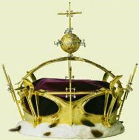 Corona del príncipe Carlos - joyas del Reino Unido