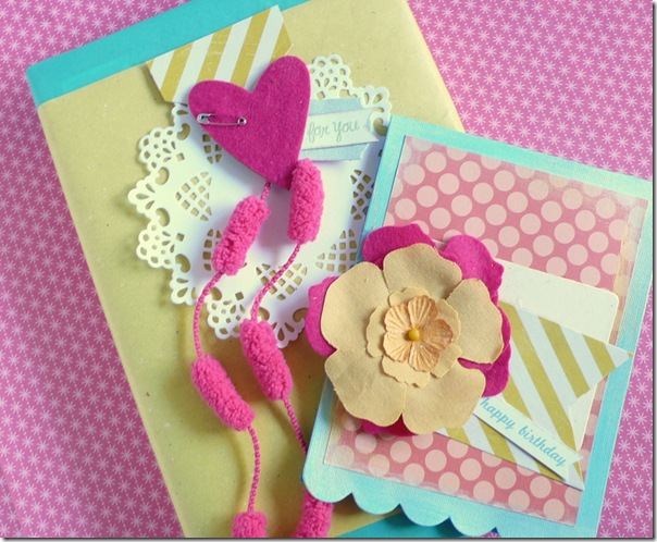 cafe creativo - Anna Drai - big shot sizzix - card - flower - summer (4)