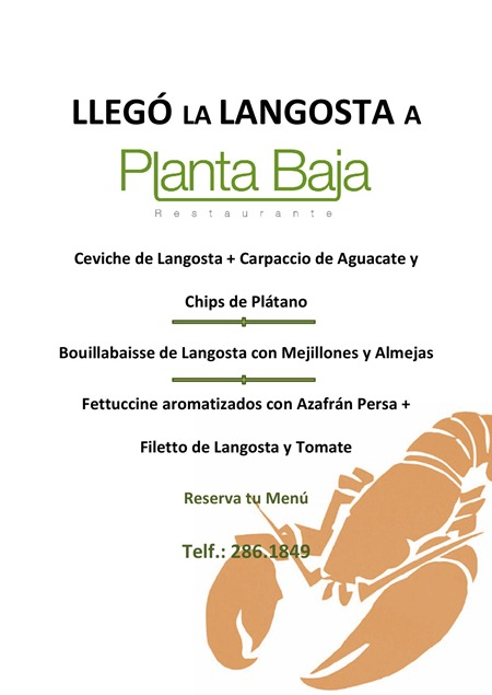 Langosta Planta Baja