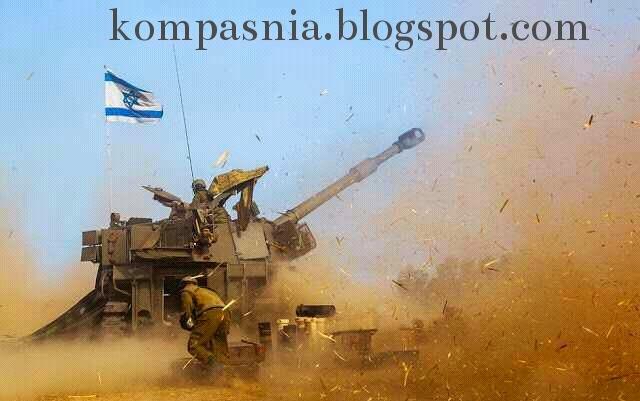tank perang gaza