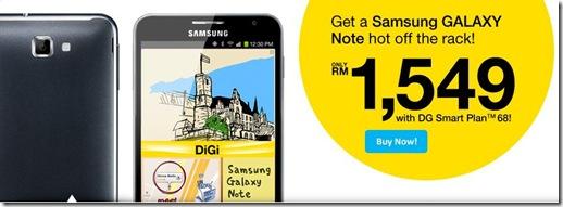 DiGi Samsung Galaxy Note 1